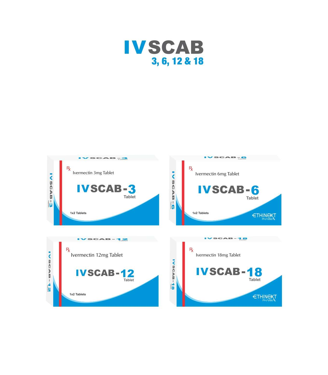 IV SCAB- Ivermectine Tablet